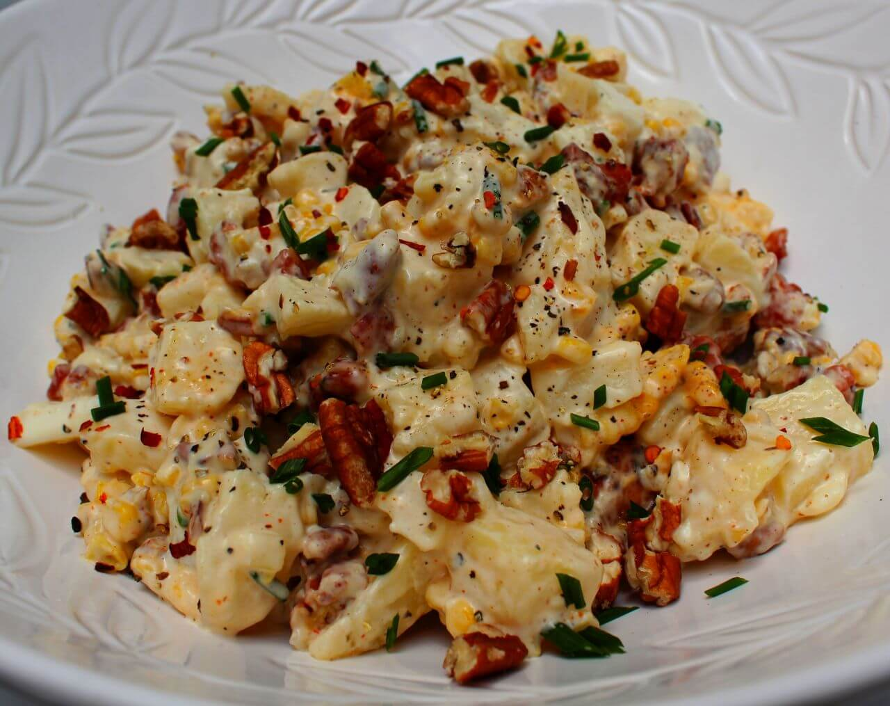 Loaded Cheat Potato Salad